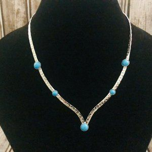 Vintage Sarah Coventry 1976 Summer Skies Necklace